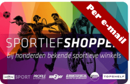 sportief shoppen e-voucher