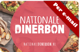 Nationale Dinerbon E-voucher bestellen