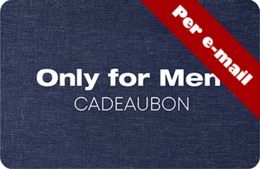 Only for Men digitale cadeaubon