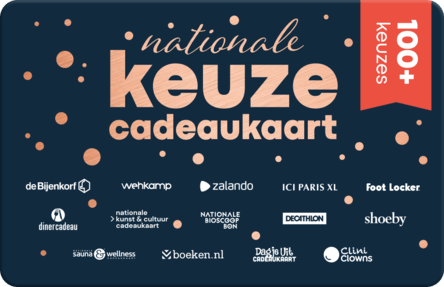 Nationale Keuze kaart